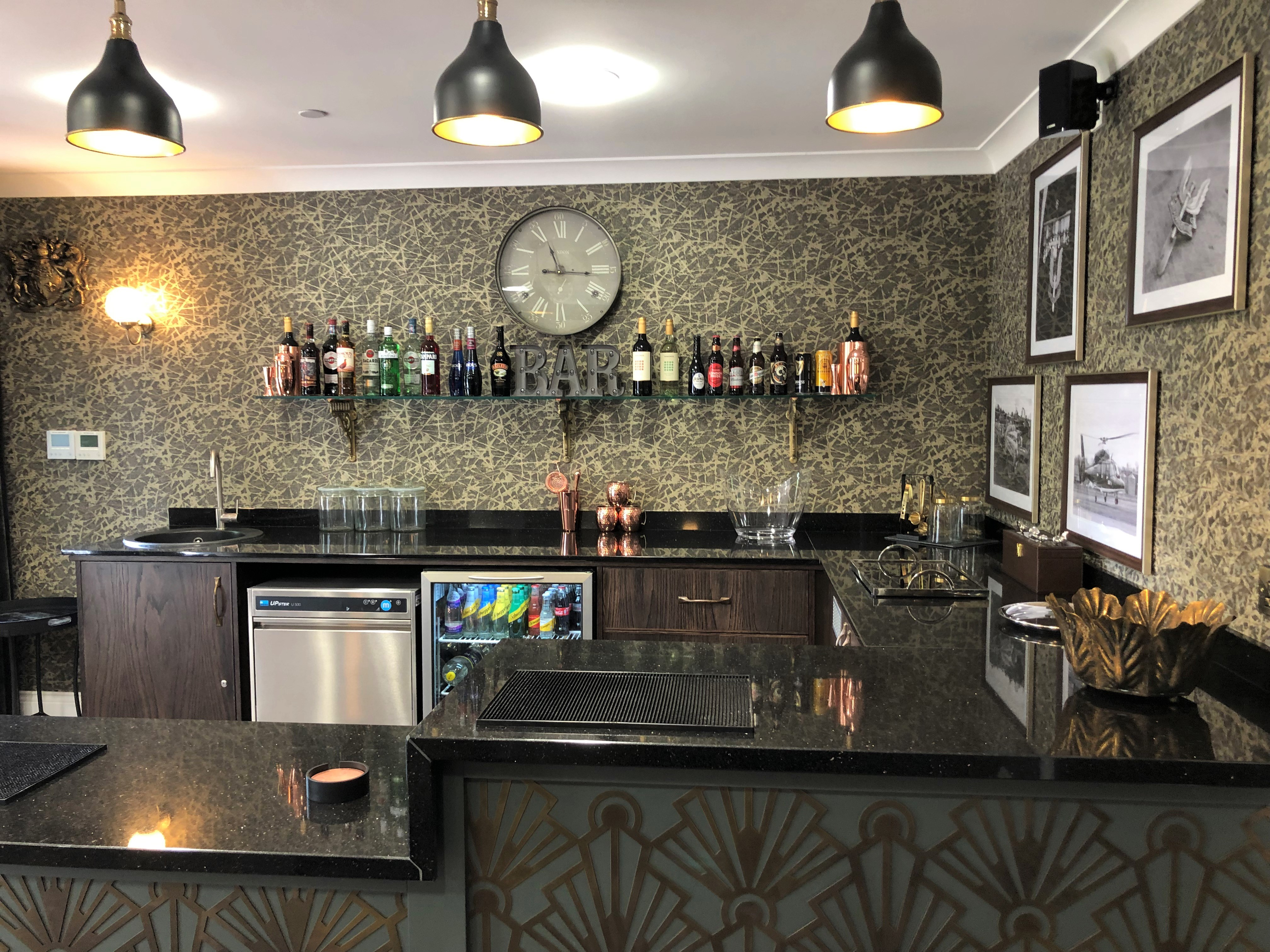Care Home Luxury Bar Design