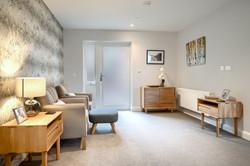 Holdenhurst Show Flat Living Room