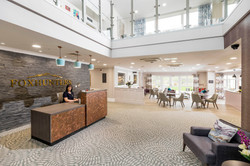 Luxury Care Home Reception