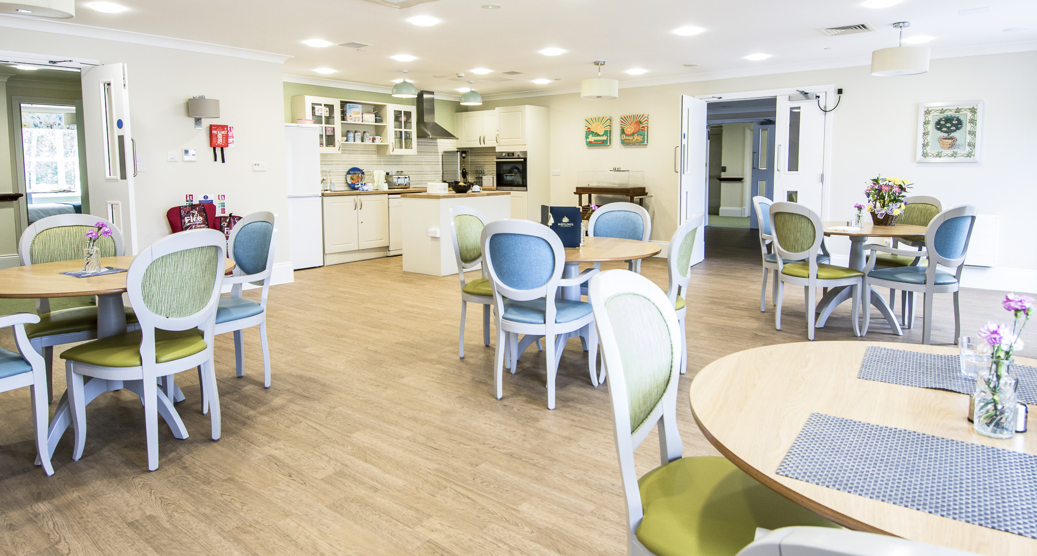 Design for Dementia Dining Room