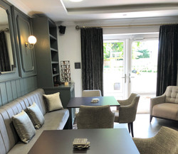 Care Home Banquette Bar Seating