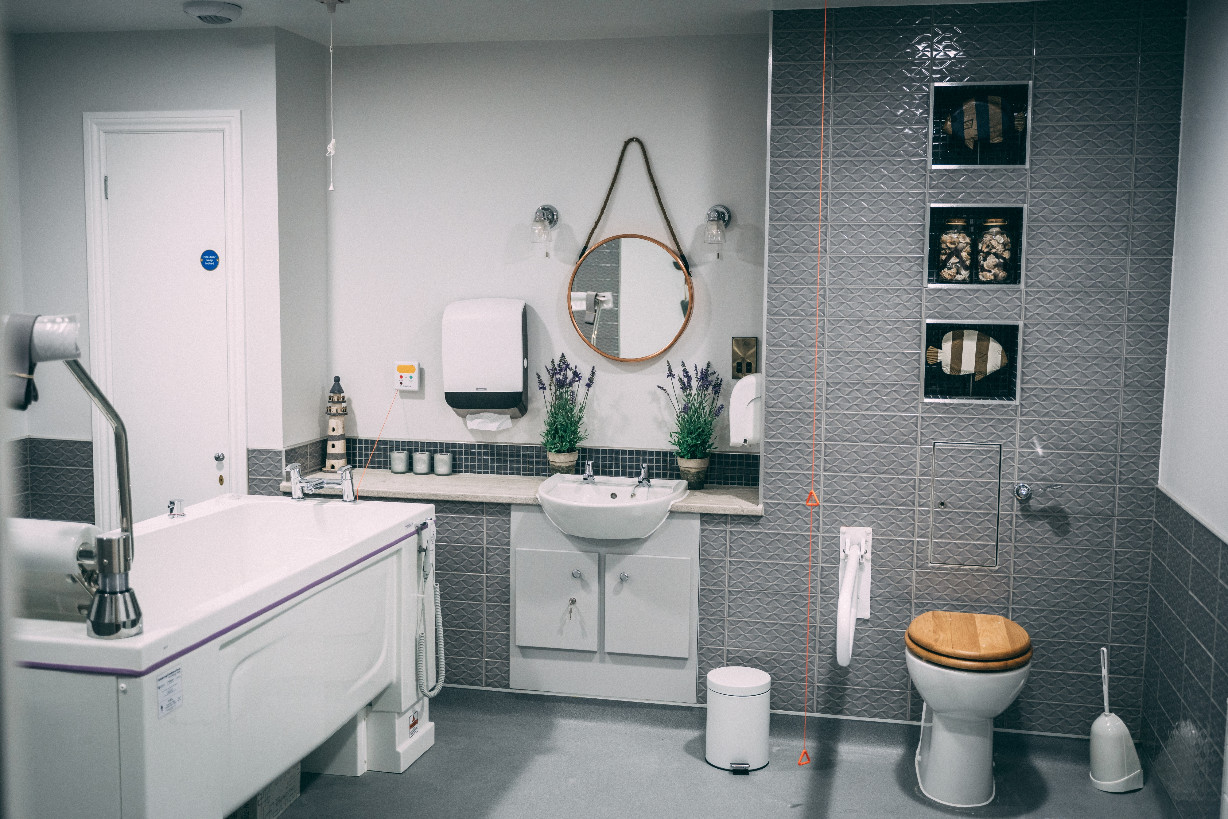 Care Home Spa Bathroom
