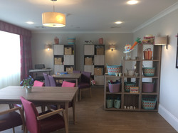 Care Home Activity Room