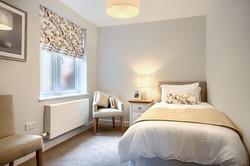 Holdenhurst Show Flat Guest Bedroom