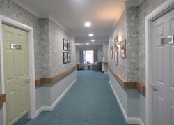 Bishops Cleeve Corridor and Artwork