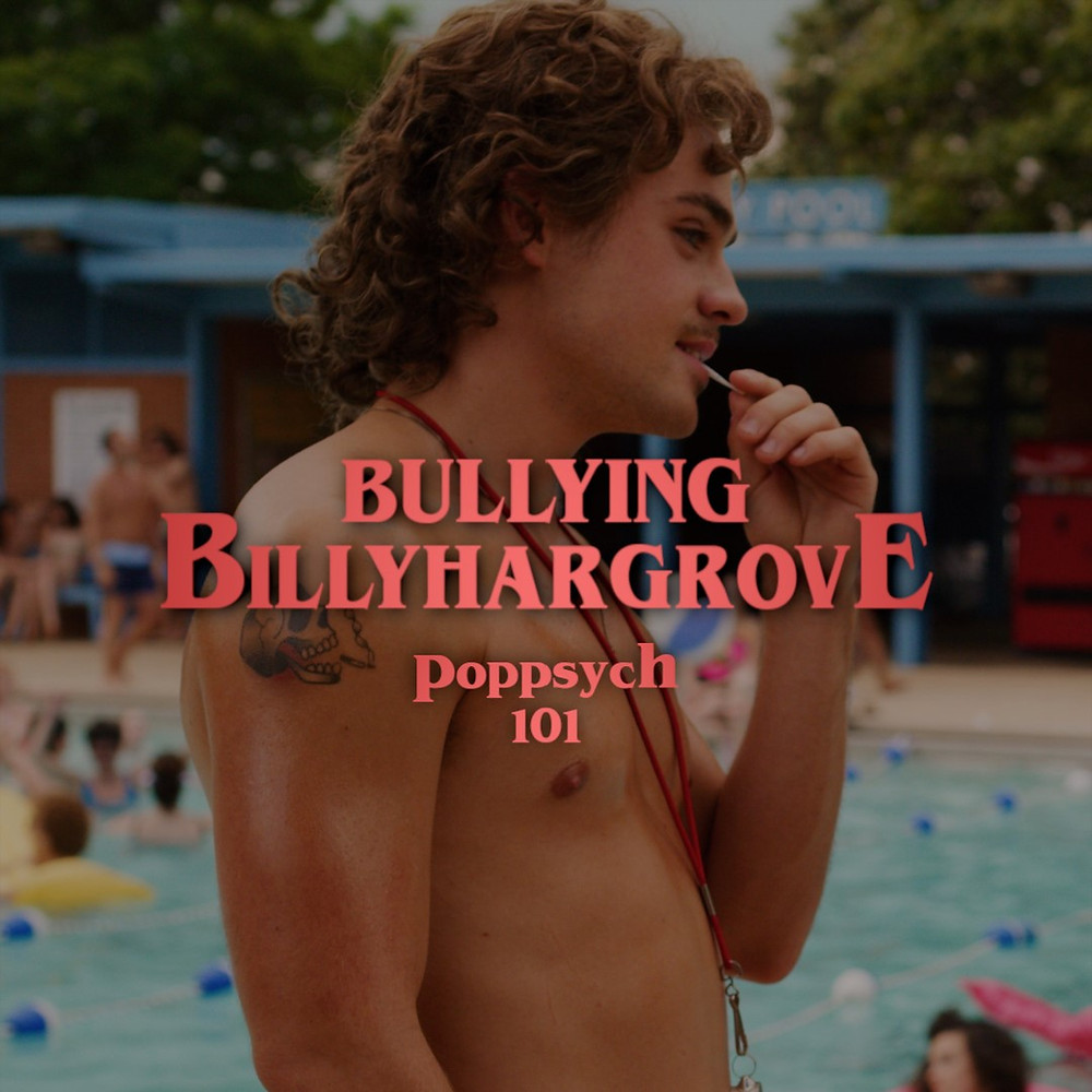 Billy Hargrove stand shirtless with a toothpick in his mouth