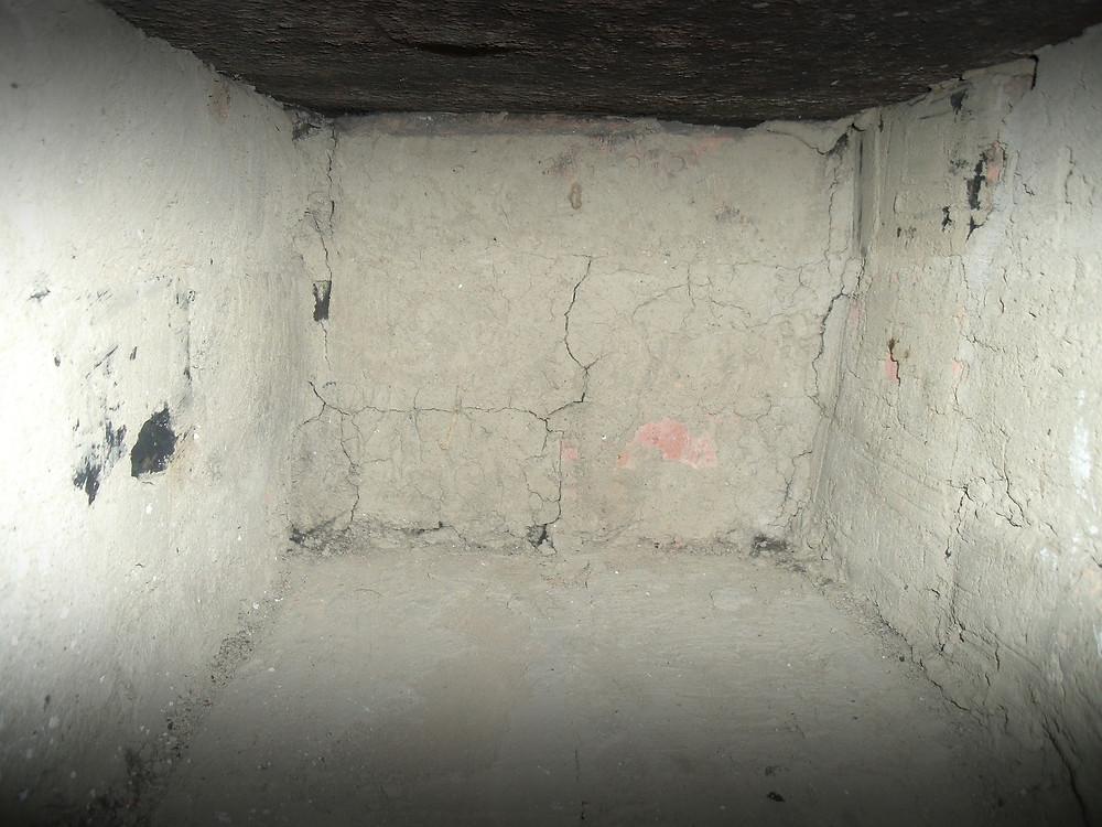 A Garage Basement. It's gross.