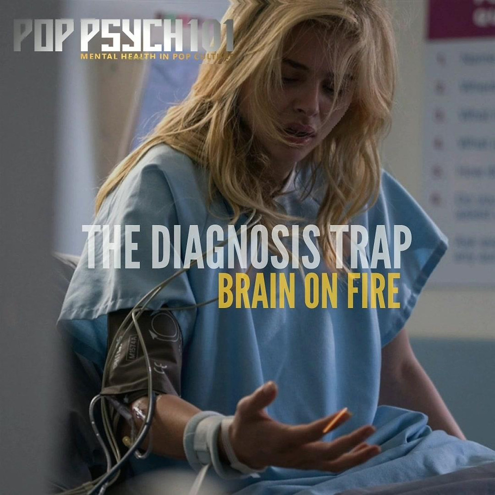 Chloë Grace Moretz in a hospital setting, portraying Susanna Cahalan as she searches for a diagnosis in Netflix's Brain On Fire