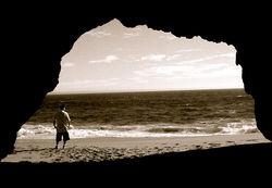 BBK outside of inside-out cave