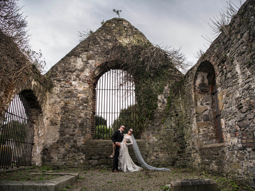 L+A | Gothic Glam at Clontarf Castle.