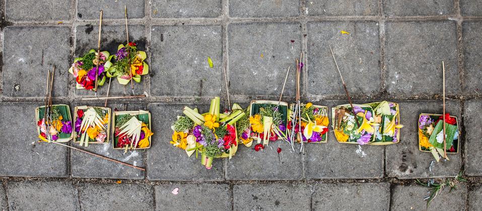 Balinese Hindu Offerings