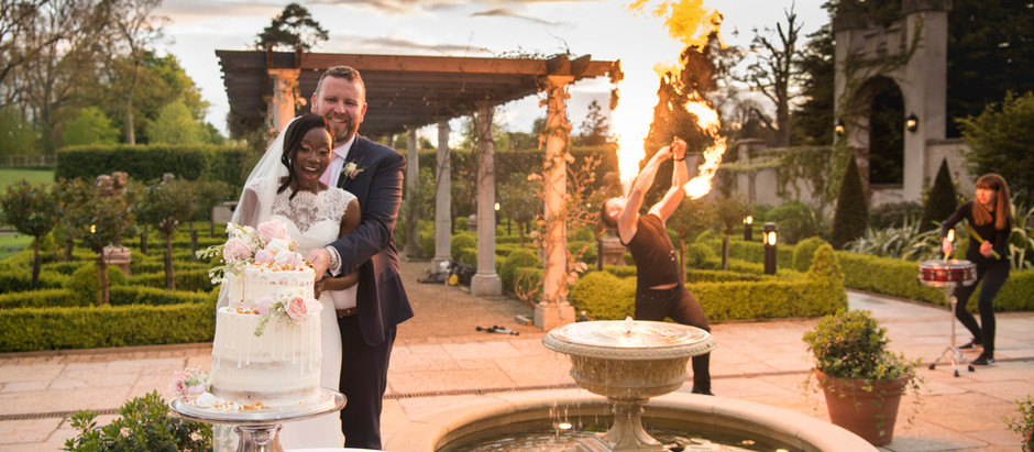 Ugandan-Irish Wedding | A+S at Bellingham Castle