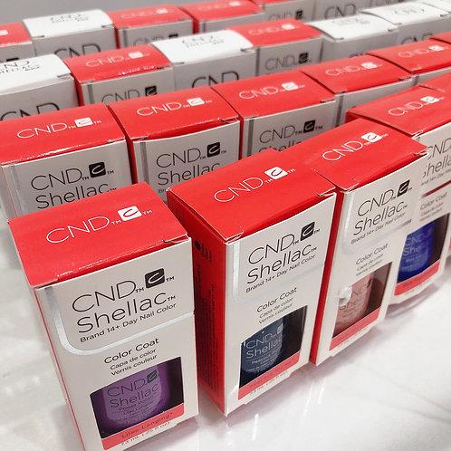 CND shellac color gel