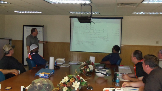 Boiler and Thermal Oil Operations Training Sessions