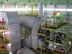 Biomass energy plant after relocation (2)