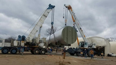 Thermal Fluid Heater Delivery
