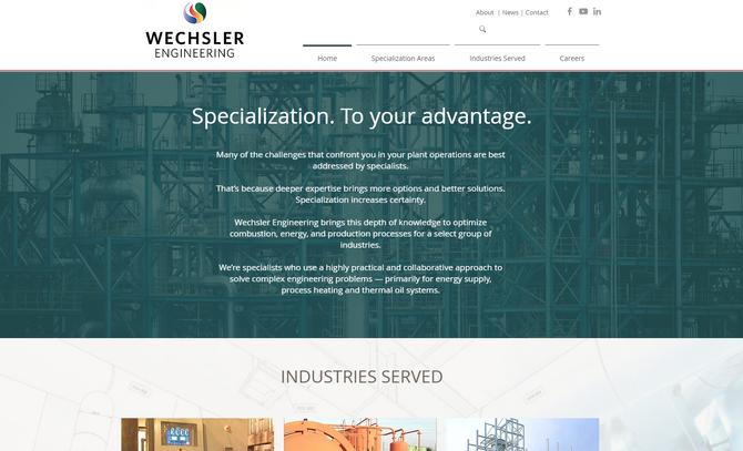 Wechsler Engineering Launches New Website