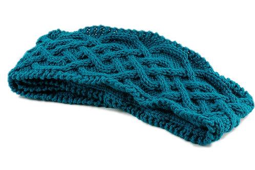 Aqua Blue Scarf