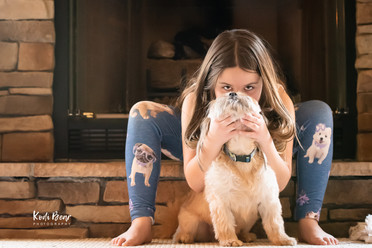Life Style Portrait with Dog