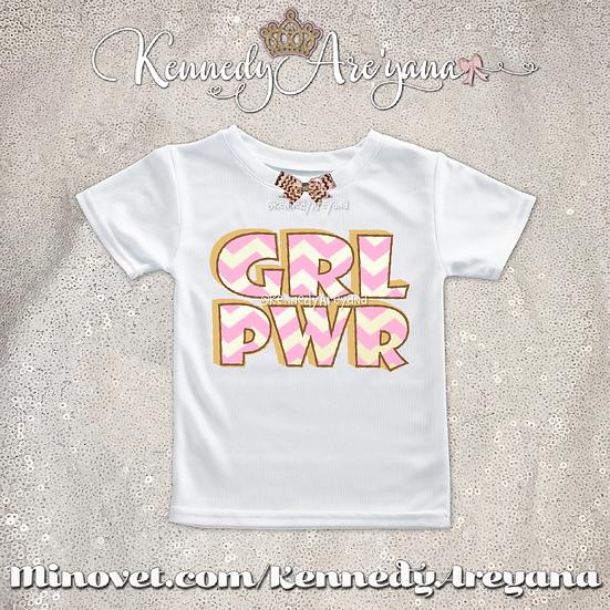 Girl Power T-Shirt (Pink)