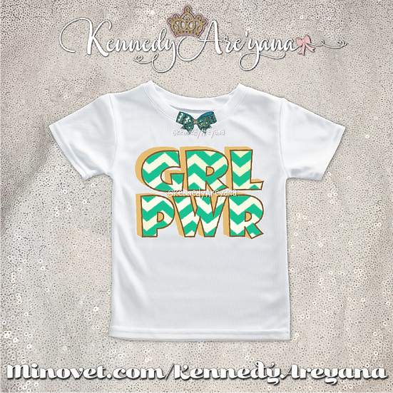 Girl Power T-Shirt (Green)