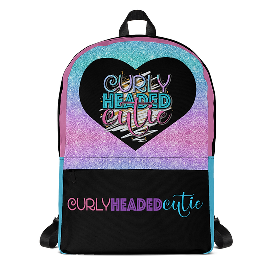 Curly Headed Cutie Backpack