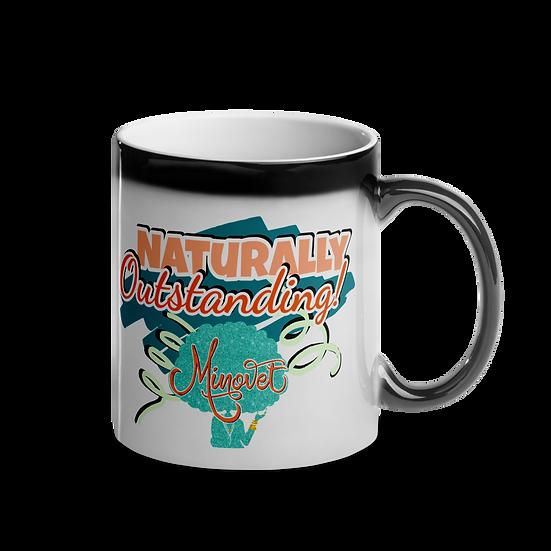 Glossy Magic Mug - NATURALLY Outstanding