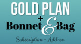 Gold Plan with Bonnet & Bag Subscription Add-on