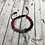 Thumbnail: Black, Gray, and Red Queen Bracelet