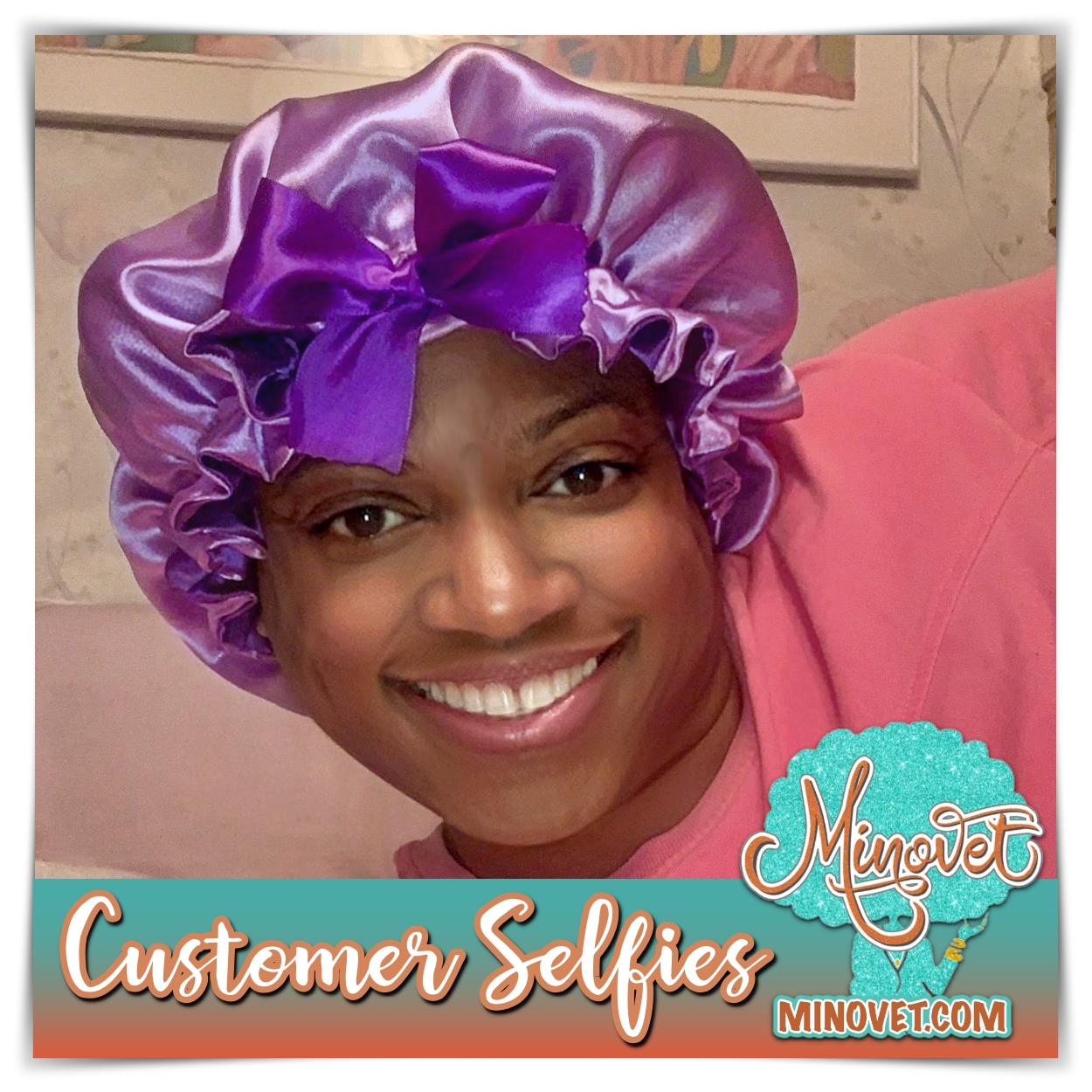 Customer Selfies - Marbra Foster Bonnet.