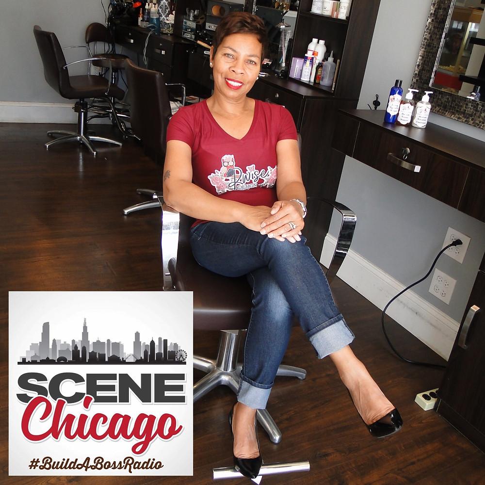 Rochelle Wise (Scene Chicago Radio Host #BuildABossRadio)