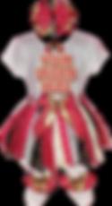 Red_black_gold tutu set cutout kennedy a