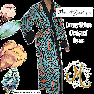 Luxury Satin Robes by Minovet.com