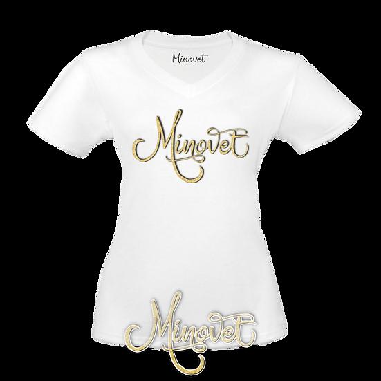 Minovet Logo Tee (Gold)