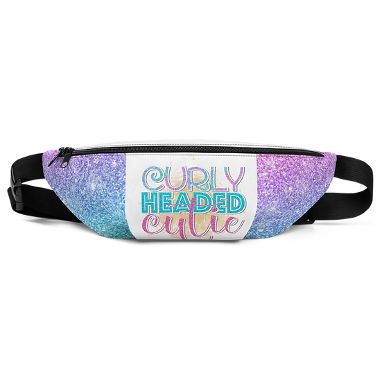 Curly Headed Cutie Fanny Pack