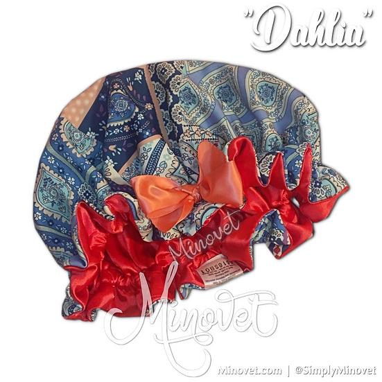 Dahlia - Satin Bonnet