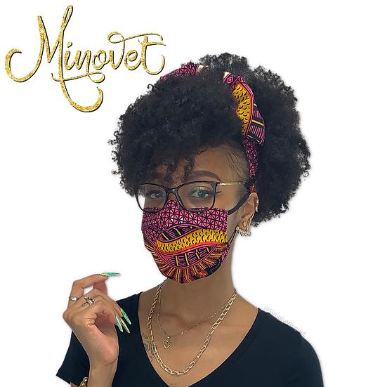 Headband & Mask Set - Elegance