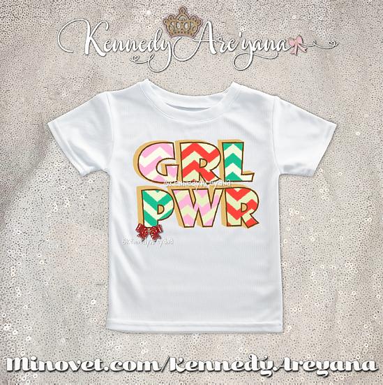 Girl Power T-Shirt (Multi Color)