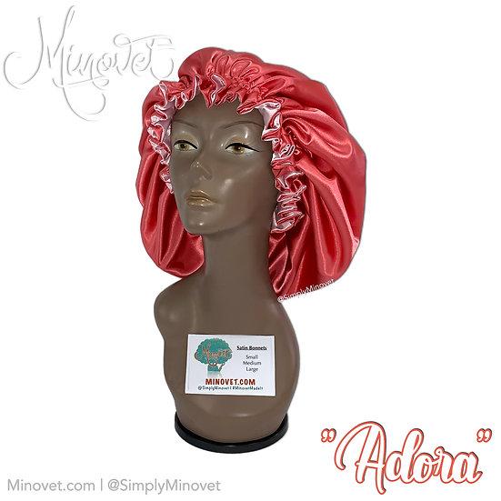 "Satin Bonnet - ""Adora"""
