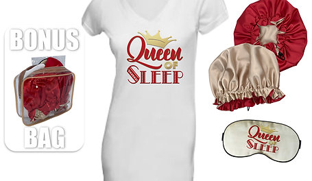 Queen of Sleep Gift Set (Gloriosa Champagne/Red)