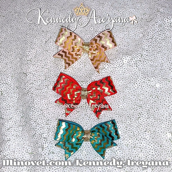 Mini Bow Set (Pink/Red/Green)