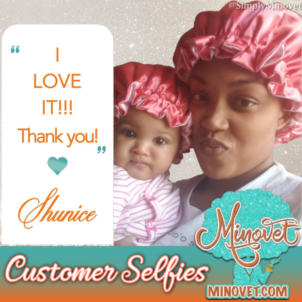 Customer Selfie - Shunice Atkins 1