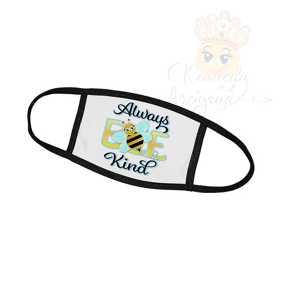 Youth Face Covering - Always Bee Kind