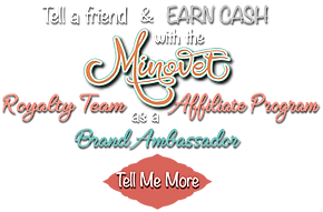 Minovet Royalty Team Affiliate Program - Brand Ambassador
