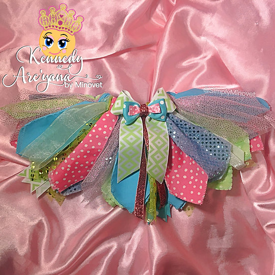 Custom Fabric Strip Tutu Skirts