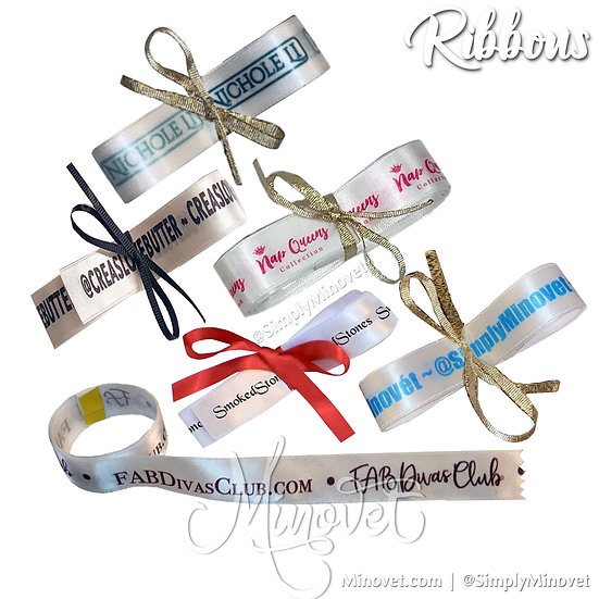Wholesale Custom Ribbons - 20yards