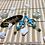 Thumbnail: Earrings - Cross in Rings