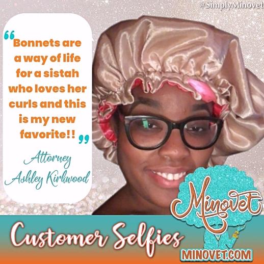 Customer Selfies - Ashley Kirkwood