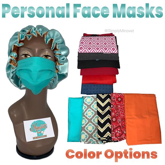 Personal Face Masks - Batch #2