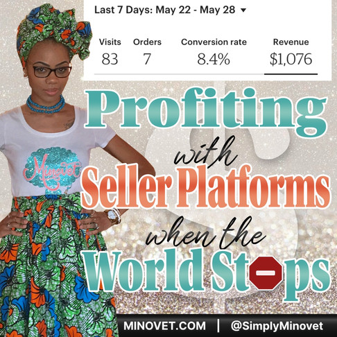 Profiting With Seller Platforms When The World Stops